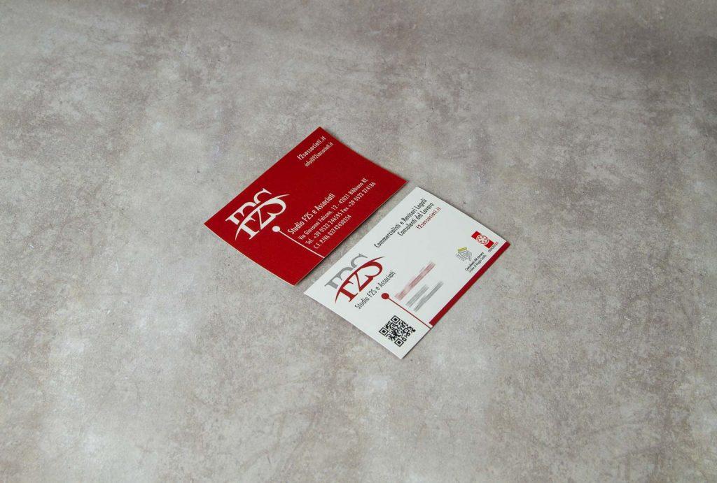Biglietti da Visita Studio F2S e Associati